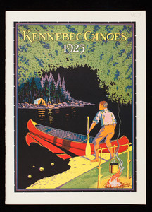 Kennebec Canoes 1925, Kennebec Boat & Canoe Co., Waterville, Maine