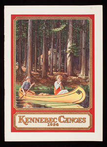 Kennebec Canoes 1924, Kennebec Boat & Canoe Co., Waterville, Maine