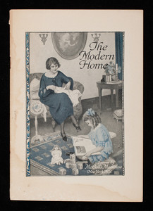 Modern home, issued by McCall's magazine, New York, New York