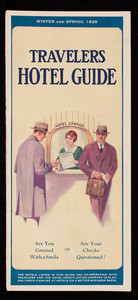 Travelers hotel guide, Hotel Credit Letter Company, 342 Madison Avenue, New York, New York