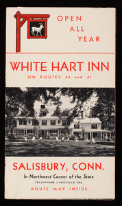 White Hart Inn, on Routes 44 and 41, Salisbury, Connecticut