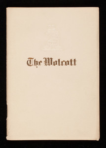 Wolcott, hotel, Thirty-first Street by Fifth Avenue, New York, New York