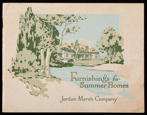 Furnishings for summer homes, Jordan Marsh Company, Boston, Mass.