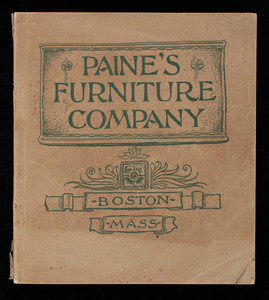 Paine S Furniture Company C Market And Friend Streets Boston M