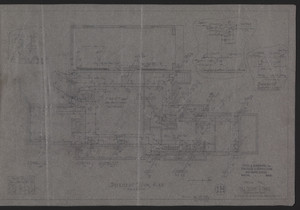 Basement Floor Plan, House for Mrs. Talbot C. Chase, Revised Nov. 25-Dec. 5, 1929