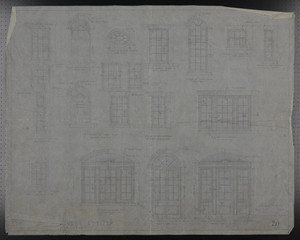Window Details, Drawings of House for Mrs. Talbot C. Chase, Oct. 25-Oct. 31, 1929