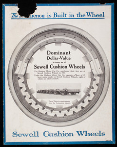 Resiliency is built in the wheel, Sewell Cushion Wheel Company, Detroit, Michigan