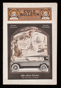 Cole Bulletin, vol. 6, no. 2, Cole Motor Car Company, Indianapolis, Indiana
