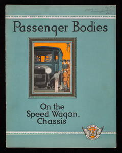 Passenger bodies on the Speed Wagon chassis, Reo Motor Car Company, Lansing, Michigan