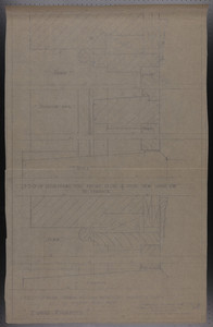 Door Frames, Drawings of House for Mrs. Talbot C. Chase, Brookline, Mass., undated