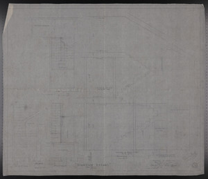 Staircase Details, Drawings of House for Mrs. Talbot C. Chase, Brookline, Mass., Nov. 25-26, 1929