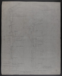 Typical Sections, Drawings of House for Mrs. Talbot C. Chase, Brookline, Mass., Nov. 26, 1929
