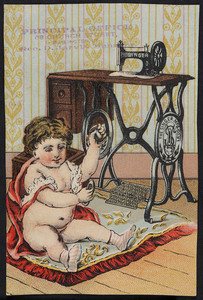 Trade card for The Singer Manufacturing Co., New York, New York, undated