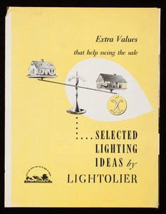 Extra values that help swing the sale, selected lighting ideas by Lightolier, Lightolier, Inc., Jersey City, New Jersey