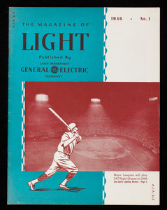 Magazine of light, vol. 15, no. 1, published by Lamp Department, General Electric Company, Nela Park, Cleveland, Ohio