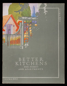 Better kitchens for homes and apartments, 2nd ed., McDougall Co., Frankfort, Indiana