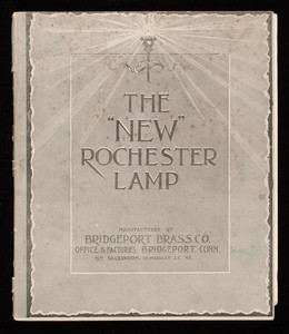 New Rochester Lamp, manufactured by Bridgeport Brass Co., office & factories, Bridgeport, Connecticut