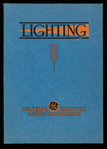Lighting equipment for commercial, industrial and floodlighting requirements, catalog no. 35L, General Electric Supply Corp., Bridgeport, Connecticut
