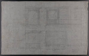 Detail of Servants' Porch, Drawings of House for Mrs. Talbot C. Chase, Brookline, Mass., Dec. 2-5, 1929