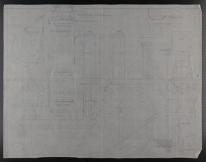 Untitled details, Drawings of House for Mrs. Talbot C. Chase, Brookline, Mass., Dec. 18, 1929