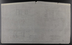 Dormer Details, Third Floor North Elevation, Drawings of House for Mrs. Talbot C. Chase, Brookline, Mass., November 1929 and Dec. 27, 1929