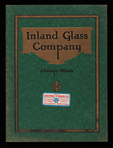 Catalogue no. 3, Inland Glass Company, manufacturers illuminating glassware, Chicago, Illinois