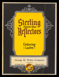 Sterling Silvered Glass Reflectors, catalog no. 25, Reflector & Illuminating Co., manufacturers and engineers, 565 West Washington Boulevard, Chicago, Illinois