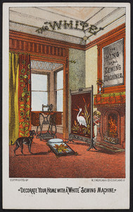 Trade cards for The White Sewing Machine, Cleveland, Ohio, undated