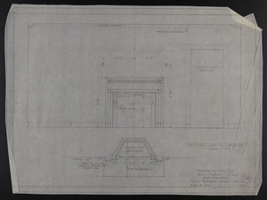 Fireplace End of Guest Rm. #2, Drawings of House for Mrs. Talbot C. Chase, Brookline, Mass., Feb. 8, 1930