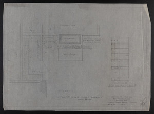 Two Kitchen Closet Details, Drawings of House for Mrs. Talbot C. Chase, Brookline, Mass., Feb. 12, 1930