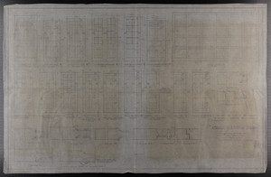 "1"" Scale and F.S.D. of Doors, Drawings of House for Mrs. Talbot C. Chase, Brookline, Mass., undated"