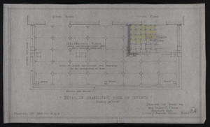 Details of Granolithic Floor of Terrace, Drawings of House for Mrs. Talbot C. Chase, Brookline, Mass., Feb. 27, 1930