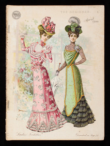 Designer, vol. xi., no. 6, April 1900, Standard Fashion Co. of New York, New York; Chicago; London