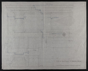 F.S.D. of Wood Mantel in Owners Room, undated