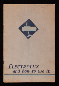 Electrolux and how to use it, Electrolux Cleaner and Air Purifier, Electrolux, Inc., 500 Fifth Avenue, New York, New York