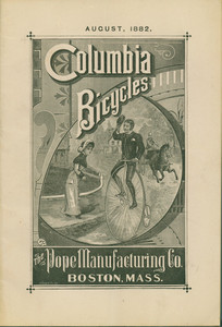 Columbia Bicycles, The Pope Manufacturing Co., Boston, Mass.