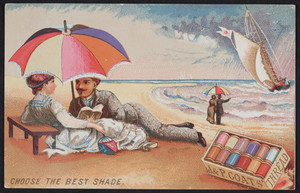 Trade cards for J. & P. Coats' Thread, location unknown, 1881