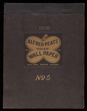 No. 5, Alfred Peats prize wall paper, New York, Boston, Chicago