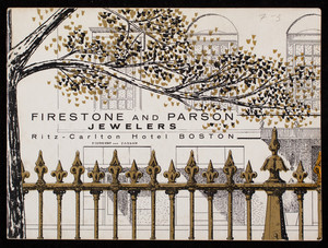 Firestone and Parson, jewelers, Ritz-Carlton Hotel, Boston, Mass.