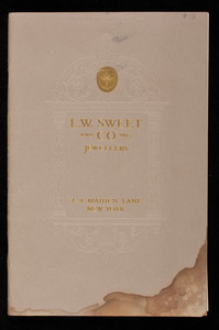 L.W. Sweet and Co. Inc., jewellers, 2-4 Maiden Lane, New York, New York