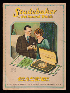 Studebaker the insured watch, style book no. 26, Studebaker Watch Co., South Bend, Indiana