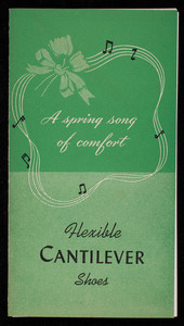 Spring song for comfort, flexible cantilever shoes, McGeary's Cantilever Shoe Shop, 145 Tremont Street, Boston, Mass.