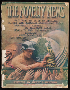 Novelty news, November 1912, vol. XV, no. 5, The Novelty News Co., Chicago and New York