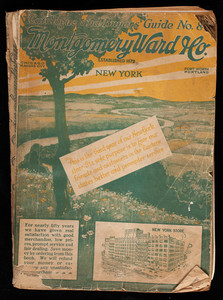 Catalogue and buyers guide no. 84, Montgomery Ward & Co., New York
