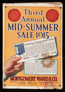 Third annual mid-summer sale 1915, Montgomery Ward & Co., New York, New York