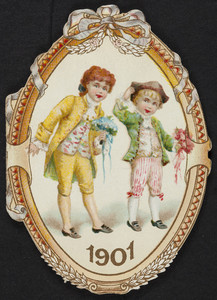Trade card for J.L. Fairbanks & Co., stationer, 288 Washington Street, Boston, Mass., 1901