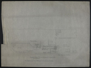 Basement Plan-Present Conditions, Alteration to 318 Commonwealth Ave., undated