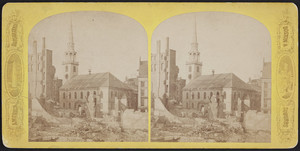 Old South Meeting House in Boston, corner of Washington and Milk Streets, Boston, Mass., 1872