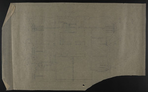 Attic (?), alterations to the townhouse of John S. Ames, 3 Commonwealth Avenue, Boston, Mass., undated