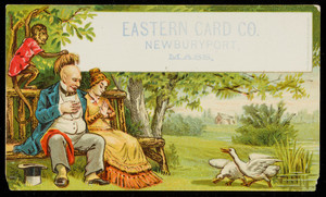 Trade card for the Eastern Card Co., Newburyport, Mass., undated